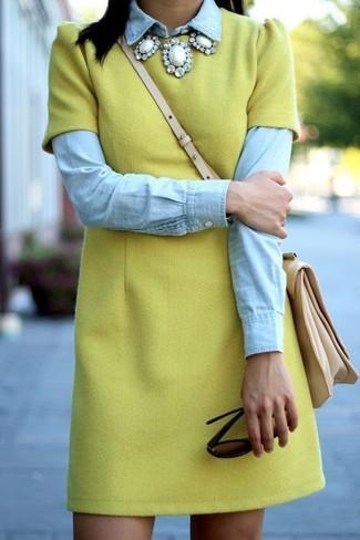 Camisa vaquera celeste de Denim & Supply Ralph Lauren