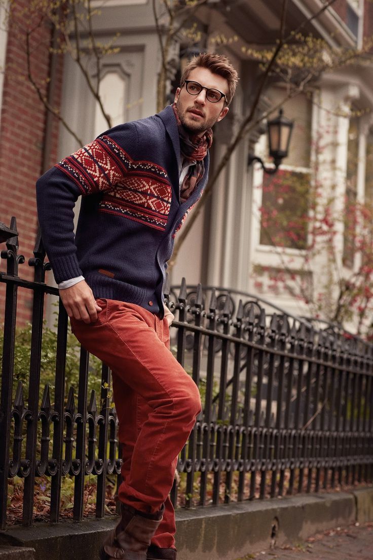 How to Wear Red Jeans (26 looks) | Men's Fashion