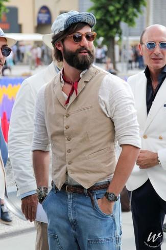 Derby Braid Leather Belt