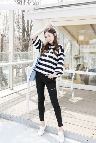 Striped Sailor Sweater