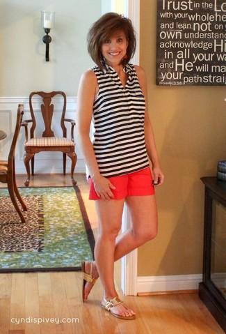 Stretch Cady Ruffle Hem Shorts