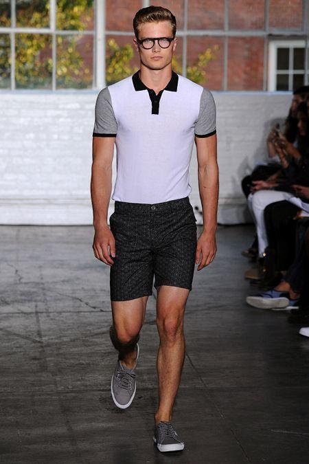 black shorts fashion men