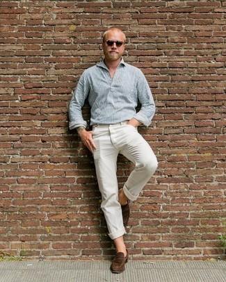 Ricky White Brick Jeans