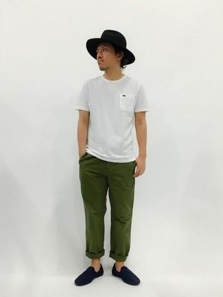 Wool Felt Brimmed Hat