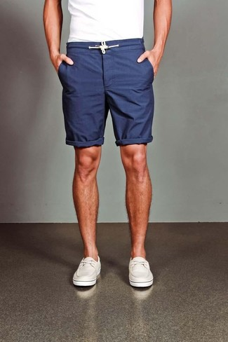 How to Wear Navy Shorts (119 looks) | Men's Fashion