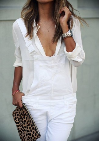 Anda Wrinkeled Button Down Shirt