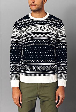a34276b607e2 Gucci Jacquard Knit Sweater