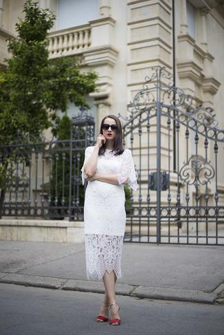 Oval Black Sunglasses