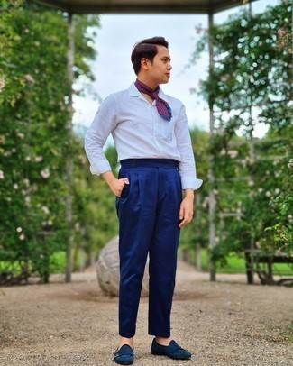 Side Stripe Evening Trousers