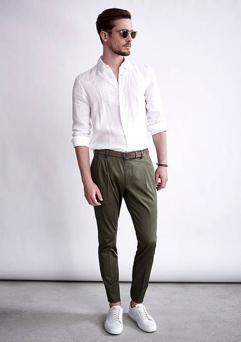 What Shoes Do You Wear With White Linen Pants