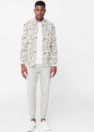 zebra motif t shirt