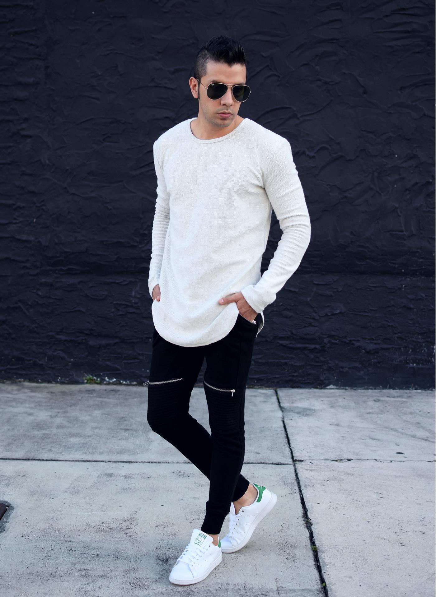 Black Sweatpants Outfit Men