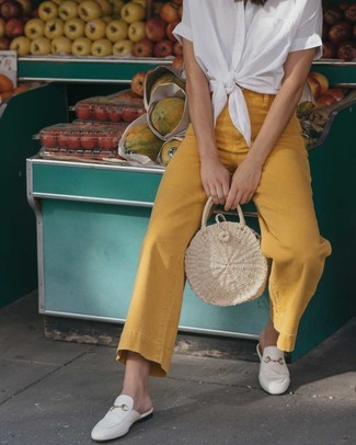 White Loafers Outfits For Women (49