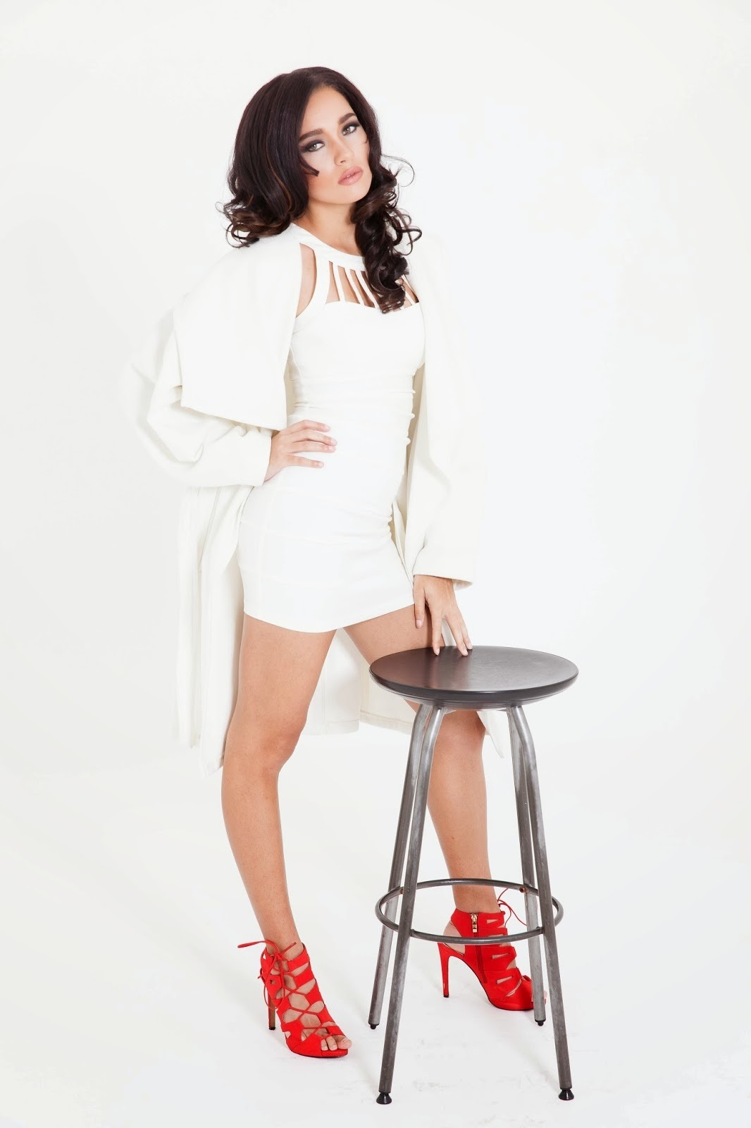 All White Bodycon Dress Photo Album - Watch Out, There\'s a Clothes ...