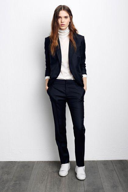 Creative White Jeans