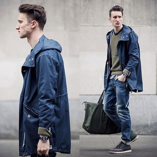 Leather Desert Boots   Men's Fashion