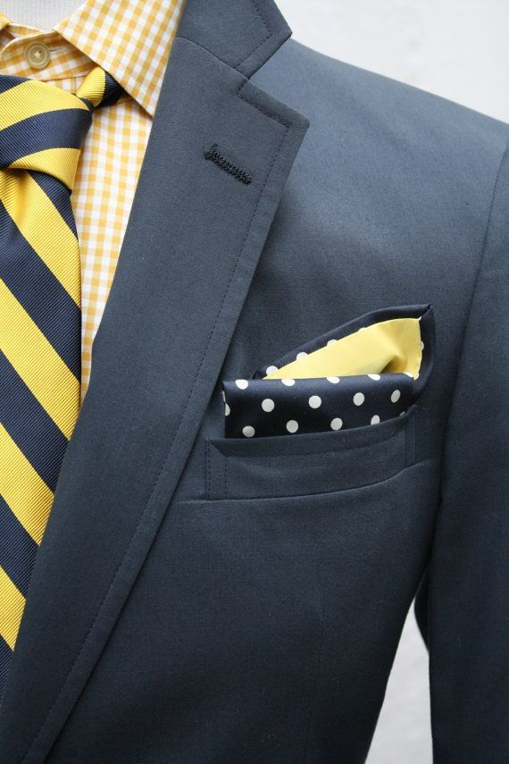 charcoal suit blue shirt yellow tie wwwimgkidcom the