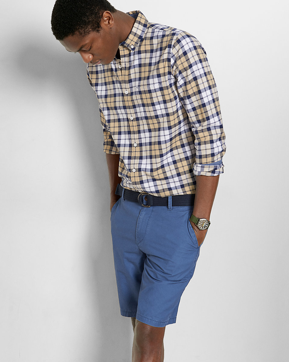 How to Wear Blue Shorts (146 looks) | Men's Fashion