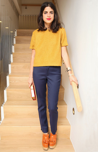 Straight Leg Stretch Wool Trousers