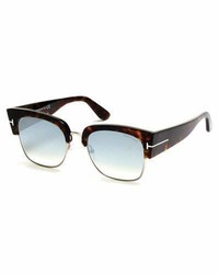 Lunettes de soleil turquoise Tom Ford