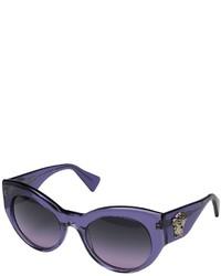 Lunettes de soleil violettes Versace
