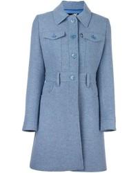 Manteau bleu clair Love Moschino
