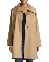 Manteau brun clair Jane Post