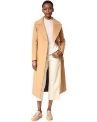 Manteau brun clair Mackage