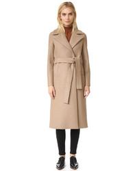 Manteau brun clair