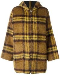 Manteau écossais jaune P.A.R.O.S.H.