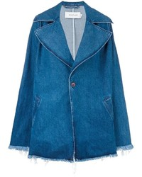Manteau en denim bleu MARQUES ALMEIDA