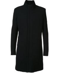 Manteau en laine noir Label Under Construction