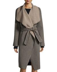 Manteau gris Vince