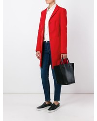 Manteau rouge Love Moschino