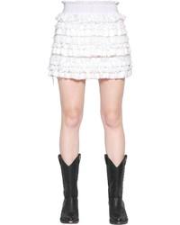 Minifalda de Encaje Blanca de Faith Connexion