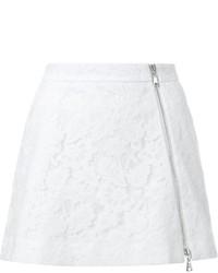Minifalda de Encaje Blanca de GUILD PRIME