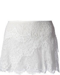 Minifalda de Encaje Blanca de Isabel Marant