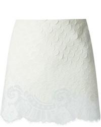 Minifalda de Encaje Blanca de Vanessa Bruno