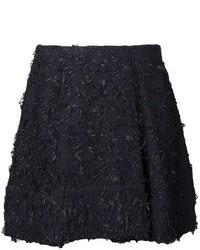 Minifalda de tweed negra de 3.1 Phillip Lim