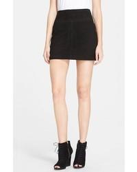 Minifalda negra de Burberry