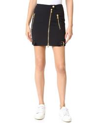 Minifalda negra de Moschino