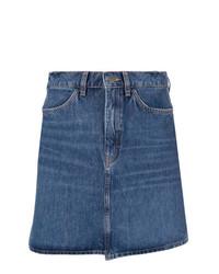 Minifalda vaquera azul de MiH Jeans