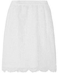 Minijupe en dentelle blanche Dolce & Gabbana