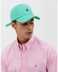 aa51286b6 Polo Ralph Lauren Logo Baseball Cap $57 · Polo Ralph Lauren Baseball Cap  With Polo Player In Green