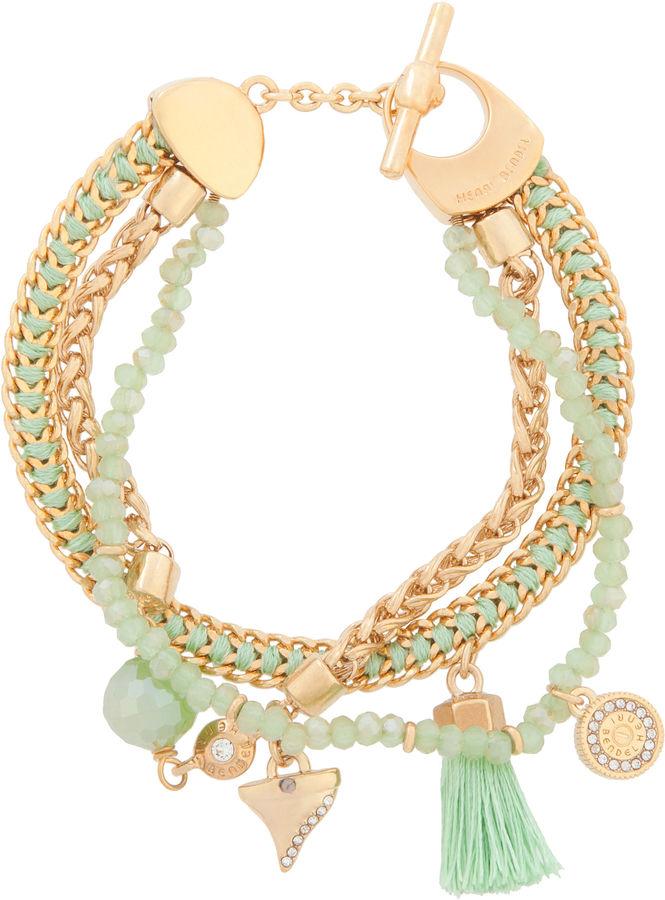 b3e131c619982 $88, Henri Bendel East Hampton Charm Bracelet