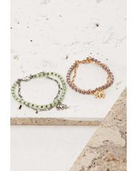 Forever 21 Layered Elephant Charm Bracelet