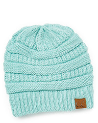 Mint Fleece Lined Knit Beanie