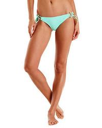 Charlotte Russe Crochet String Bikini Bottoms