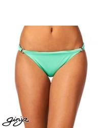 Ginja Platinum Grecian Hipster Bikini Bottom Mint