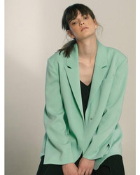 Single breasted oversized blazer medium 3803590